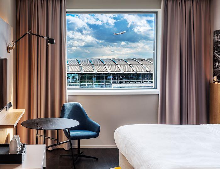 Ubytování s vyhledem na letiště
