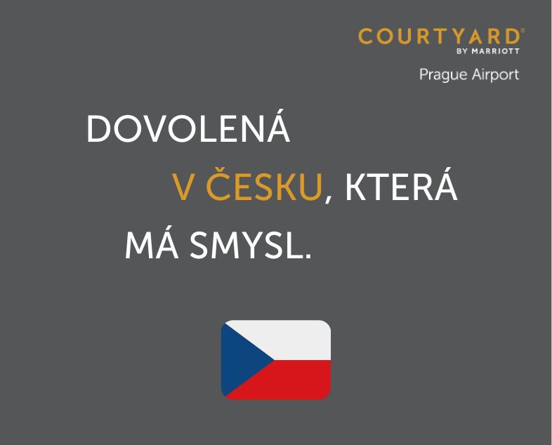 Dovolená v Česku, která má smysl -- s Courtyard by Marriott Prague Airport.